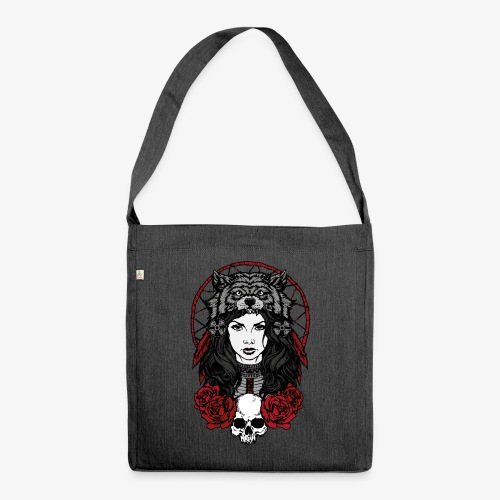 Red Shaman - Schultertasche aus Recycling-Material
