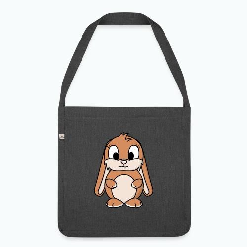 Lily Bunny - Appelsin - Axelväska av återvinningsmaterial