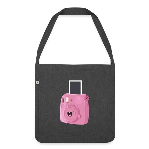 Appareil photo instantané rose - Sac bandoulière 100 % recyclé