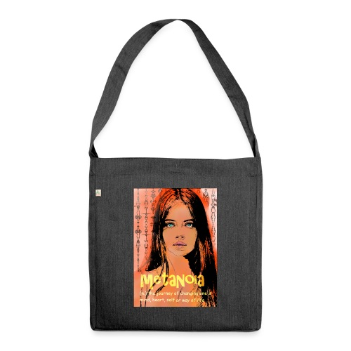 Metanoia 190220 ds. A - Shoulder Bag made from recycled material