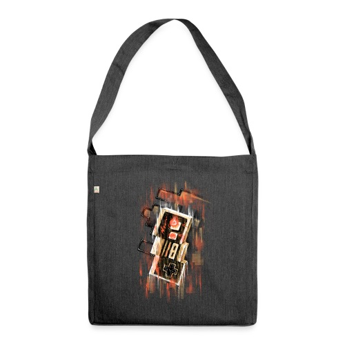 Blurry NES - Shoulder Bag made from recycled material