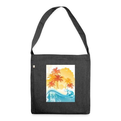 Palm Beach - Shoulder Bag made from recycled material
