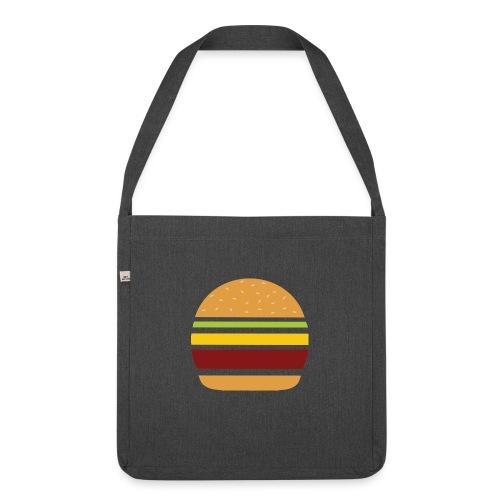 Logo Burger Panhamburger - Sac bandoulière 100 % recyclé