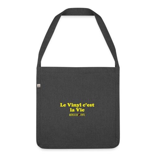 Collection Le Vinyl c'est la Vie - Sac bandoulière 100 % recyclé