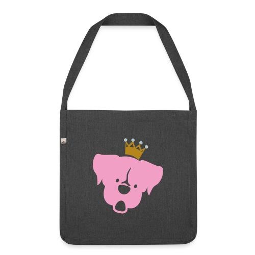 Prinz Poldi rosa - Schultertasche aus Recycling-Material