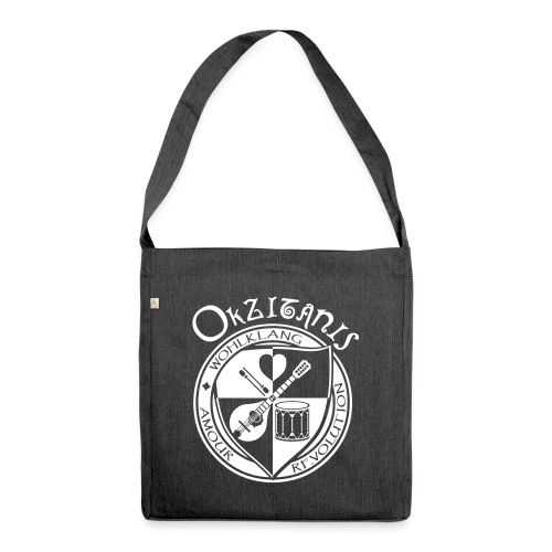 Okzitanis - Wohlklang Amour Revolution - Schultertasche aus Recycling-Material