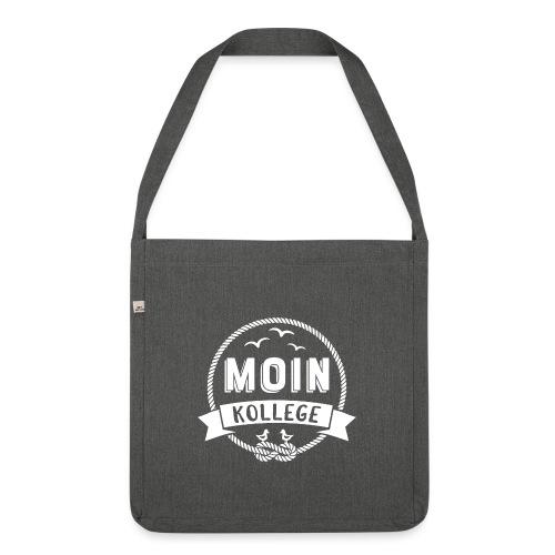 Moin Kollege Geschenk für Strandliebhaber - Schultertasche aus Recycling-Material
