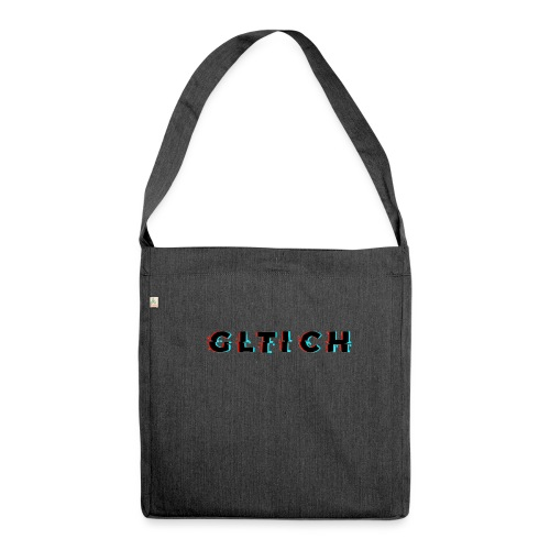 Glitch - Shoulder Bag made from recycled material