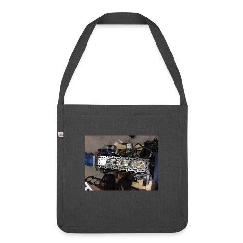 Motor tröja - Axelväska av återvinningsmaterial