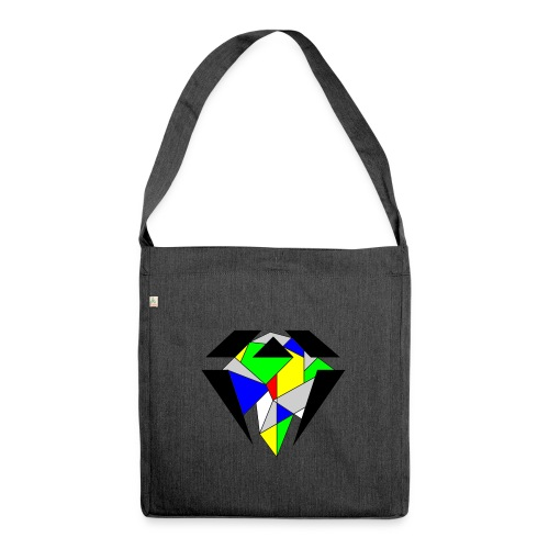 J.O.B. Diamant Colour - Schultertasche aus Recycling-Material