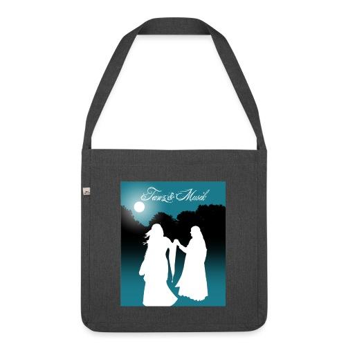 Tanz und Musik - Schultertasche aus Recycling-Material