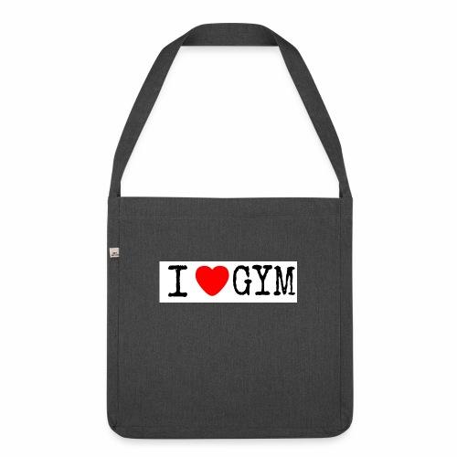 LOVE GYM - Borsa in materiale riciclato