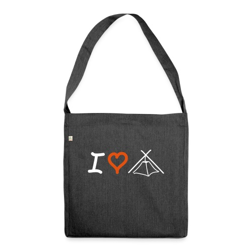 I love Kothe - Schultertasche aus Recycling-Material