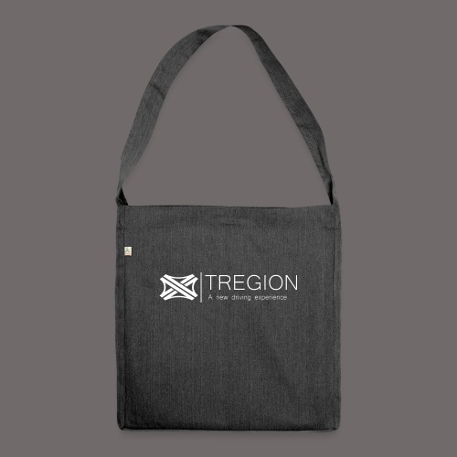 Tregion Logo wide - Shoulder Bag made from recycled material