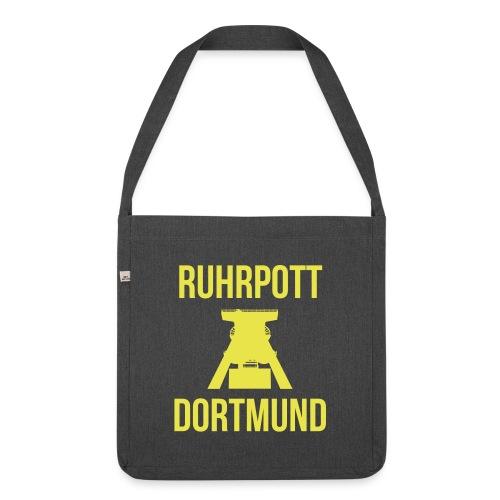 RUHRPOTT DORTMUND - Deine Ruhrpott Stadt - Schultertasche aus Recycling-Material