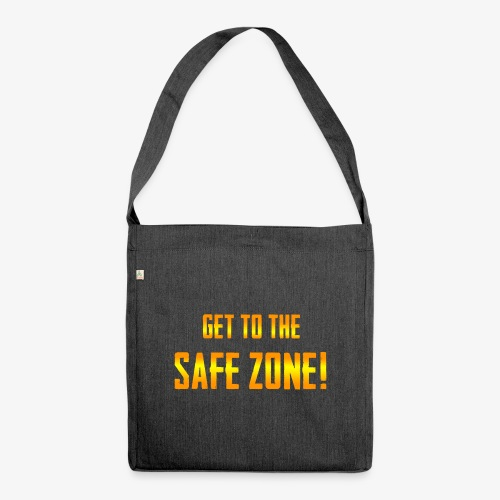 PUBG Get to the safe zone! - Schultertasche aus Recycling-Material
