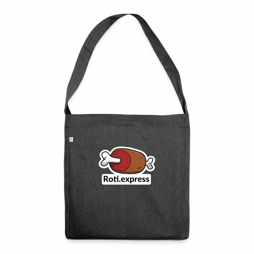 Logo Roti.express - Sac bandoulière 100 % recyclé