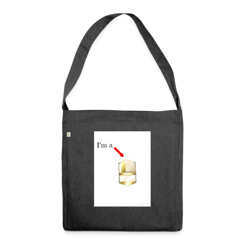 I'm a legend - Shoulder Bag made from recycled material
