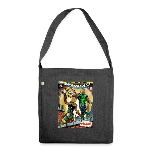 WHOACAST - Shoulder Bag made from recycled material