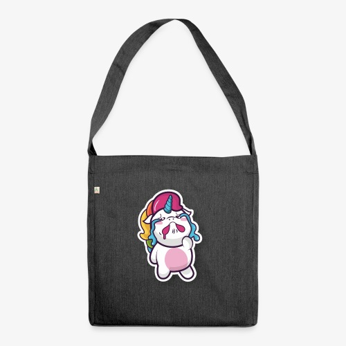 Funny Unicorn - Shoulder Bag made from recycled material