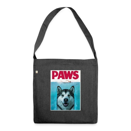 paws 2 - Shoulder Bag made from recycled material
