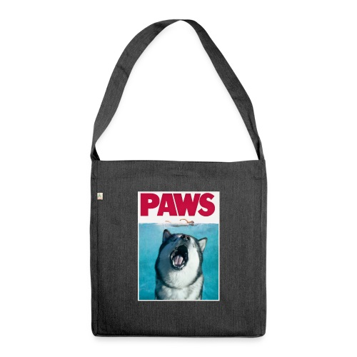 paws Alaskan Malamute - Shoulder Bag made from recycled material