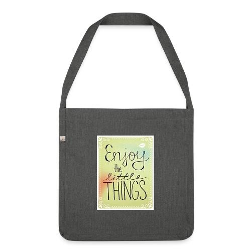 LITTLE_THINGS - Schoudertas van gerecycled materiaal
