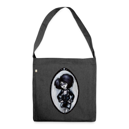 Trad Goth Art by E. R. Whittingham - Shoulder Bag made from recycled material