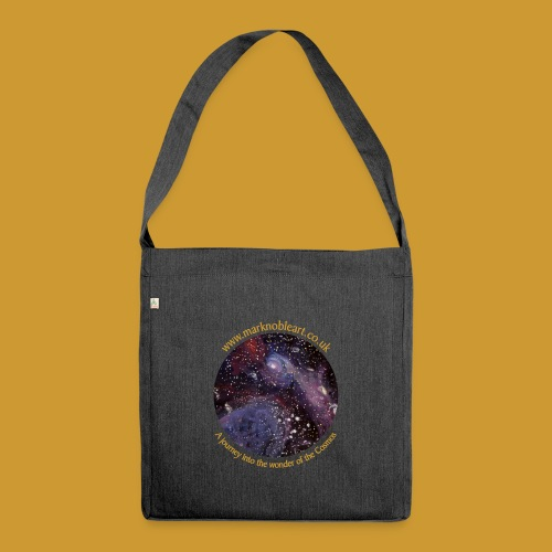 Journey into the Cosmos - Shoulder Bag made from recycled material