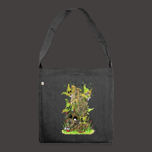 Ivy Death - Sac bandoulière 100 % recyclé