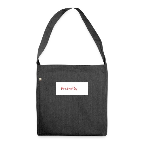 Friendly - Schultertasche aus Recycling-Material