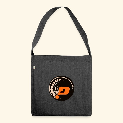 Planet Underground Round Logo - Shoulder Bag made from recycled material