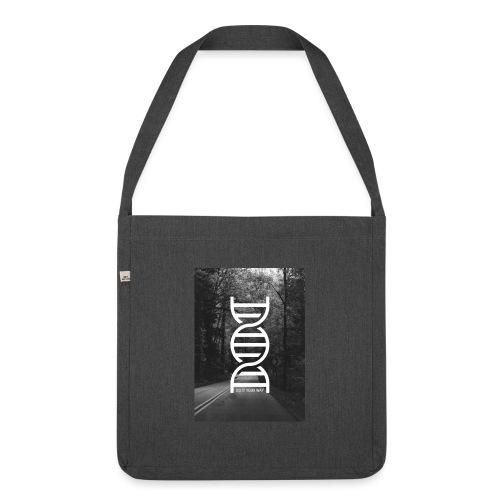 Fotoprint DNA Straße - Schultertasche aus Recycling-Material