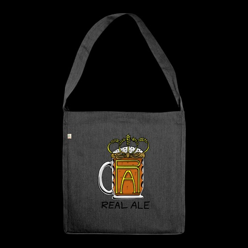 Real Ale - Shoulder Bag made from recycled material