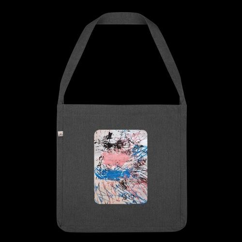 Emelie Kunstwerk V. - Schultertasche aus Recycling-Material