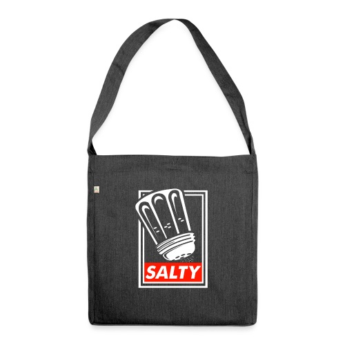 Salty white - Shoulder Bag made from recycled material