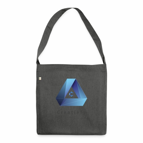 creativfy - Schultertasche aus Recycling-Material