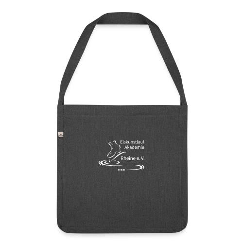 EARheine Logo weiss - Schultertasche aus Recycling-Material