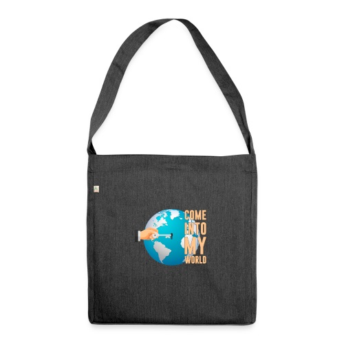 Caro cloth design - Shoulder Bag made from recycled material