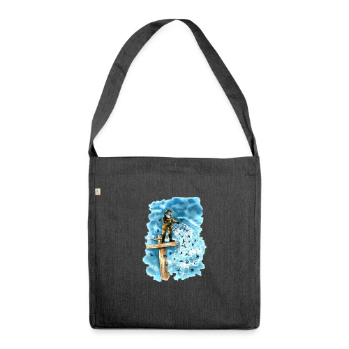 after the storm - Shoulder Bag made from recycled material