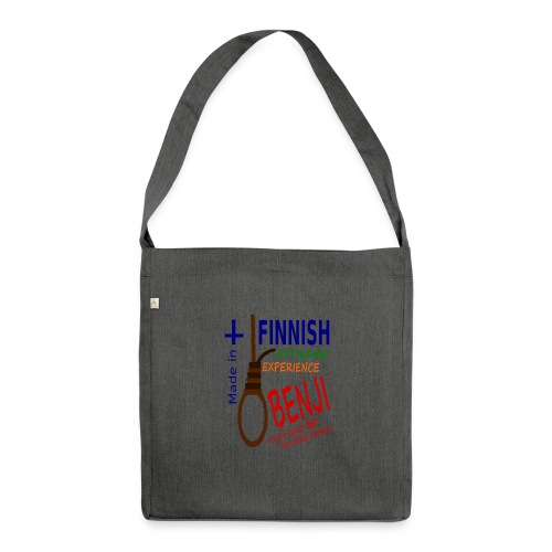 FINNISH-BENJI - Shoulder Bag made from recycled material