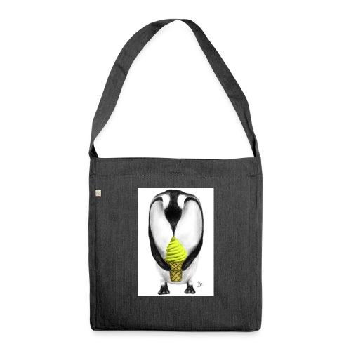 Penguin Adult - Shoulder Bag made from recycled material