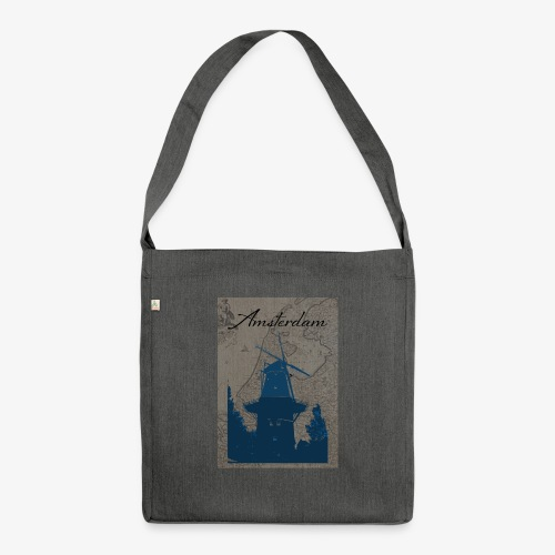 Amsterdam city - Borsa in materiale riciclato