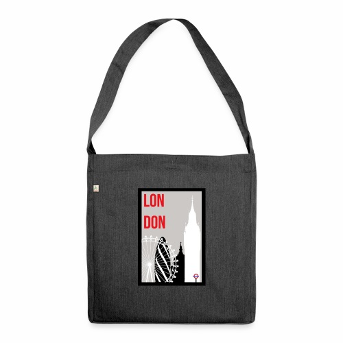 London Skylines - Shoulder Bag made from recycled material
