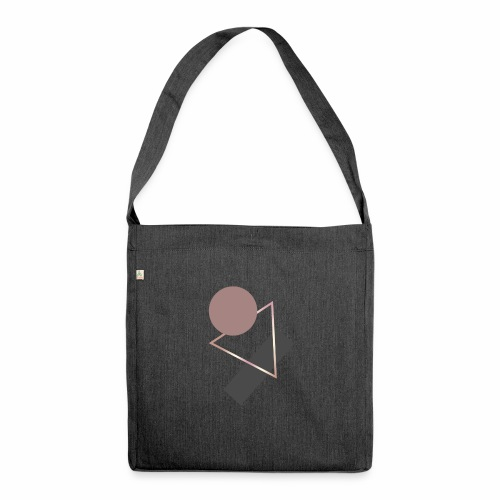 Geometry - Shoulder Bag made from recycled material