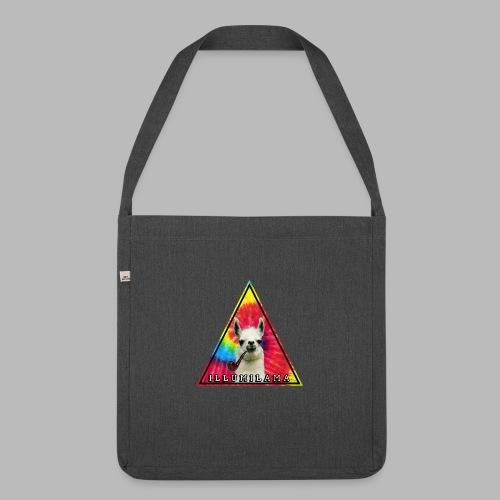 Illumilama logo T-shirt - Shoulder Bag made from recycled material