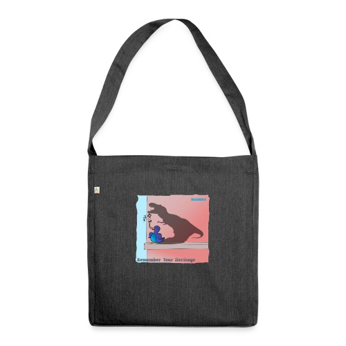Woofra's Design Heritage - Shoulder Bag made from recycled material