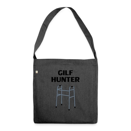 GILF Hunter - Schultertasche aus Recycling-Material