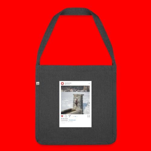 travelsuisse - Brunnen Trin - Schultertasche aus Recycling-Material