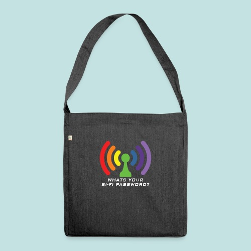 Bi-Fi - Shoulder Bag made from recycled material